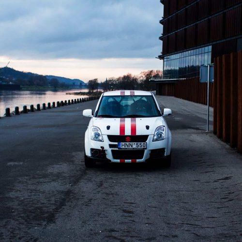 Suzuki Swift Sport Tėvas Racing
